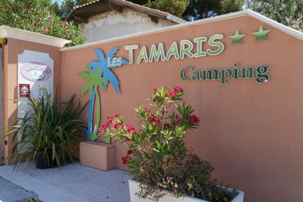 Camping Les Tamaris - Bungalow Tonga 1Ch 2pers