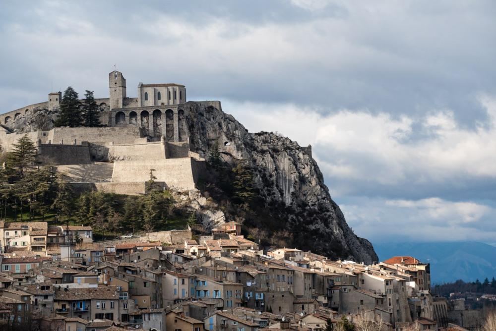 Citadelle de Sisteron à 15 km