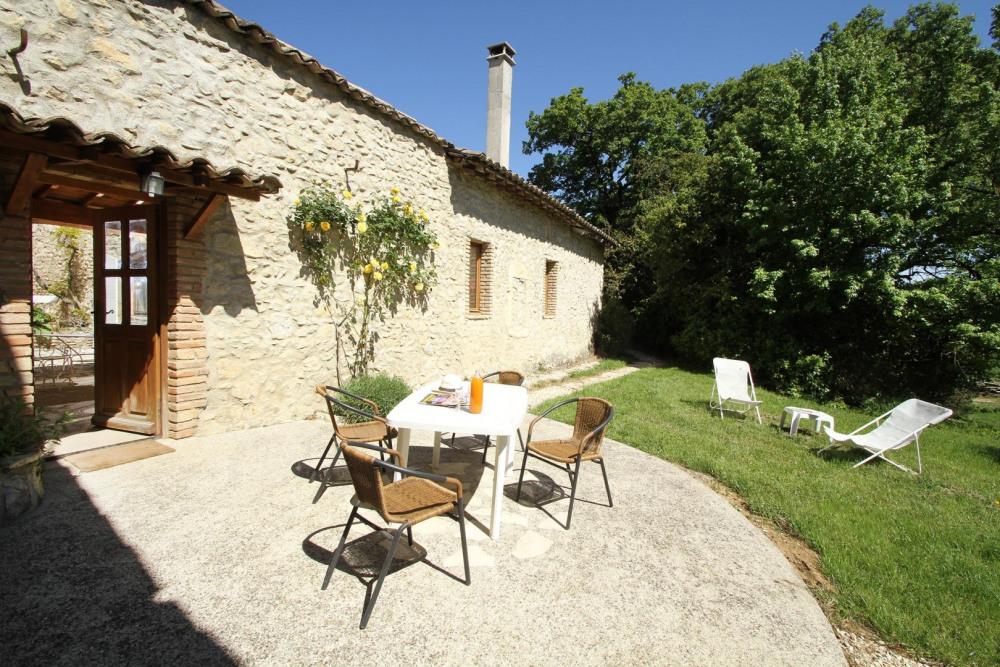 Une autre terrasse dédiée à la lecture et à la relaxation !