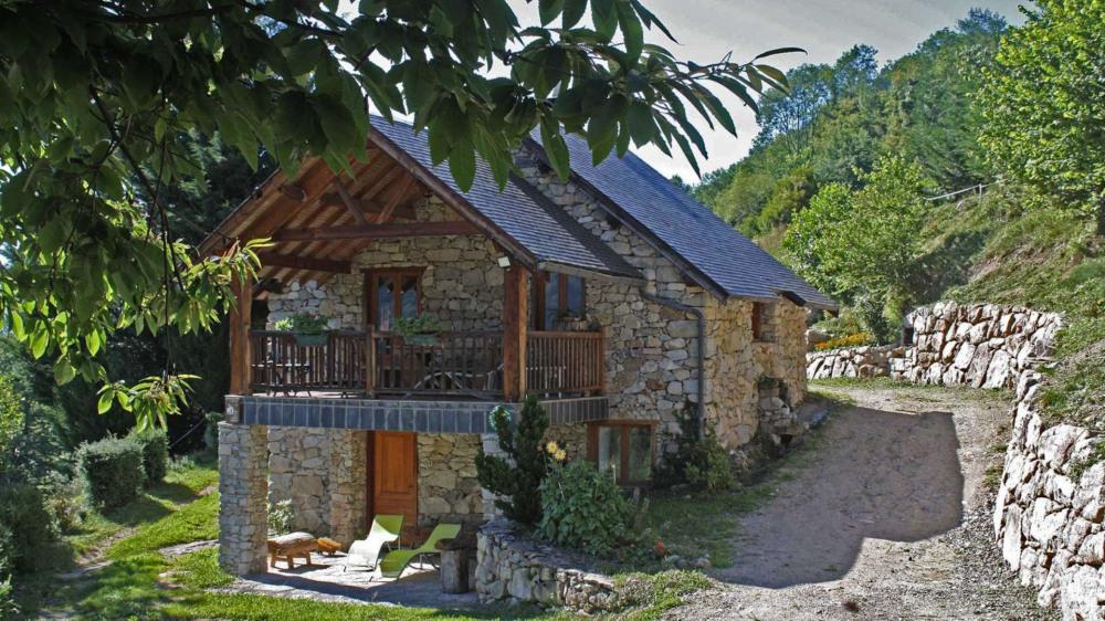 Ferienwohnungen Ercé - Hütte - 4 Personen - Grill - Foto Nr. 1