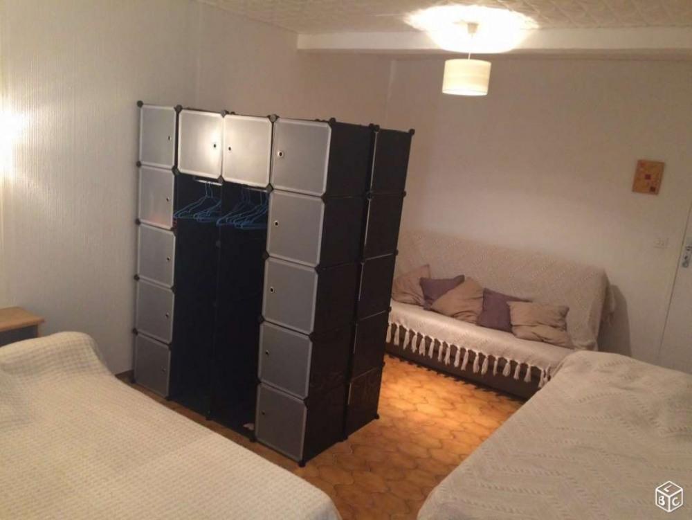 Chambre Lit double et 2 lits simples