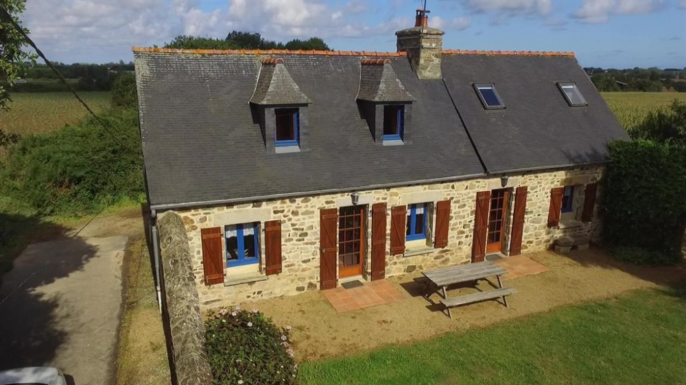 Holiday rentals Lézardrieux - House - 8 persons - BBQ - Photo N° 1