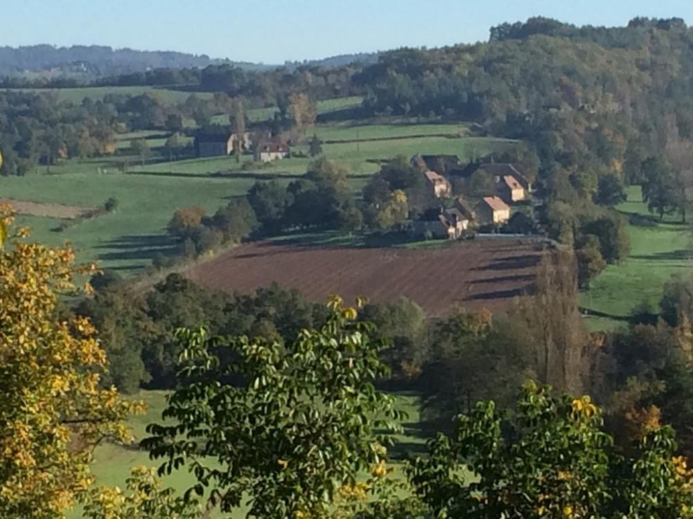 vue du hameau les Escures