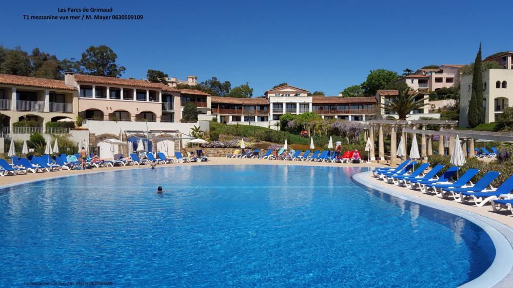 Alquileres de vacaciones Grimaud - Apartamento - 5 personas - Silla de cubierta - Foto N° 1