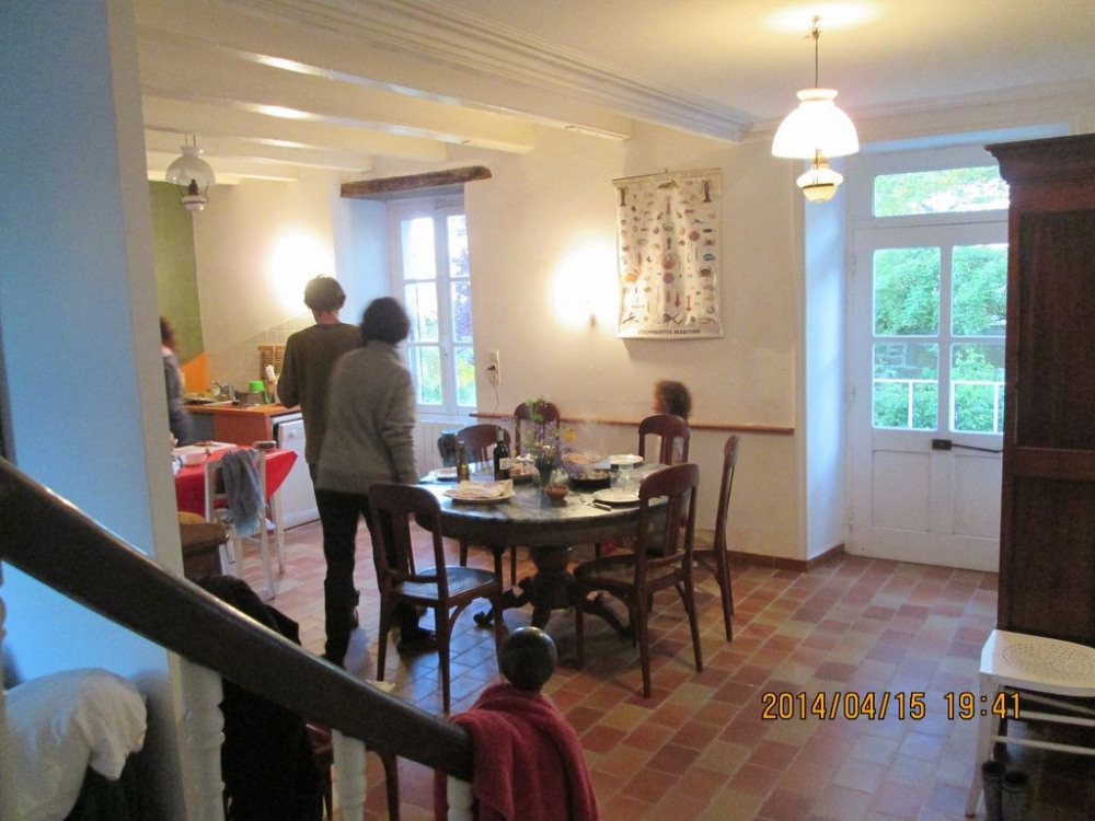 en bas salle à manger et cuisine