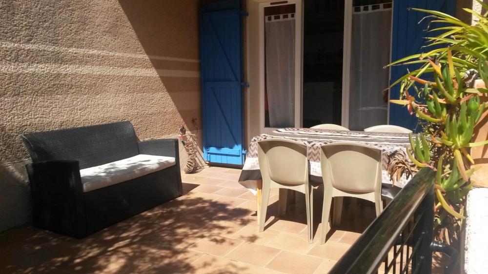 Alquileres de vacaciones Sainte-Maxime - Apartamento - 4 personas - Mueble de jardín - Foto N° 1