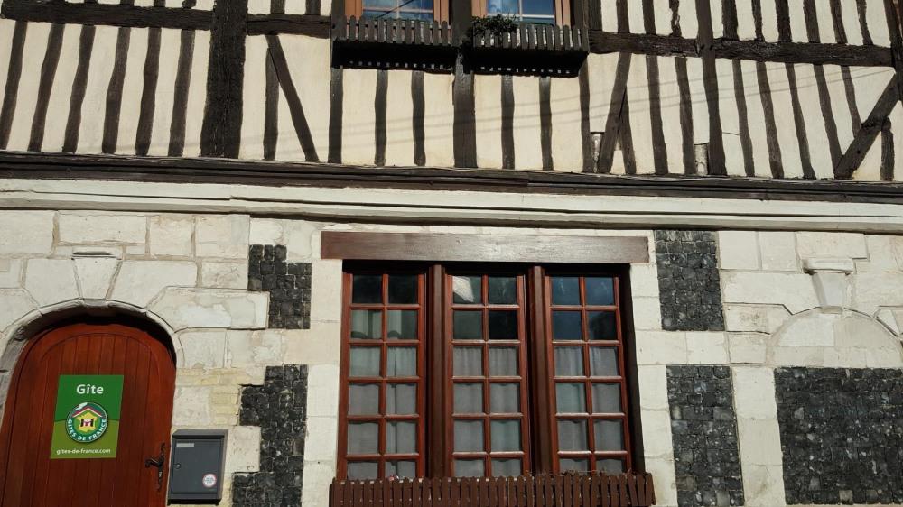 Façade Normande de Philésim
