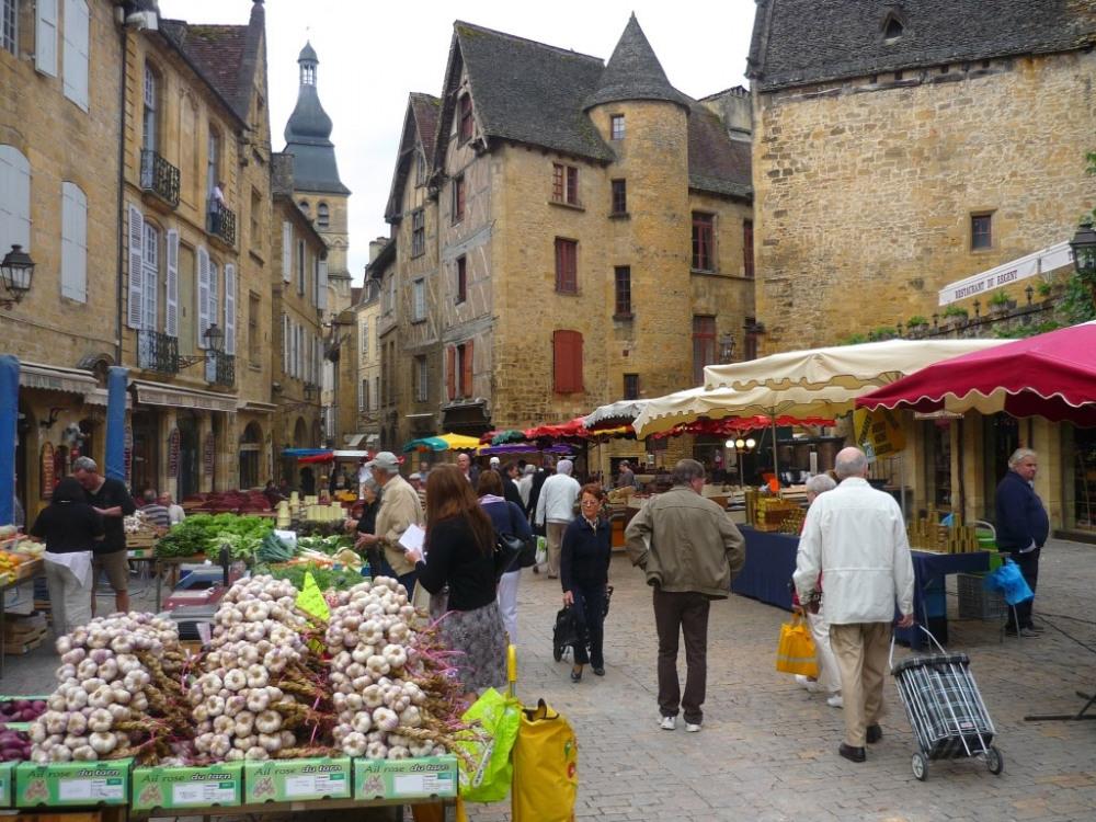 Le marché de Sarlat