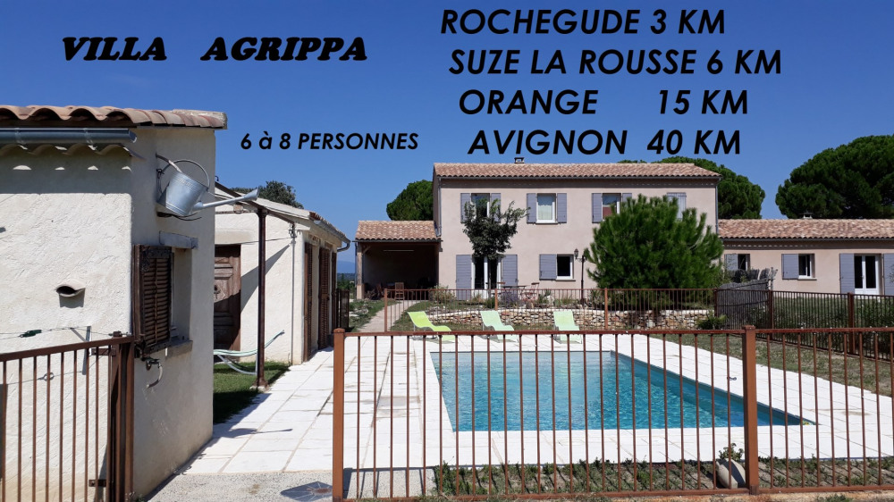 Holiday rentals Mondragon - Cottage - 8 persons - BBQ - Photo N° 1