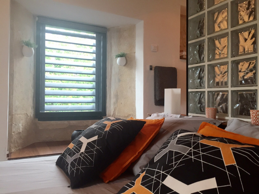 Chambre Ô de Glace à l'étage avec son balcon - Royan - Charente maritime