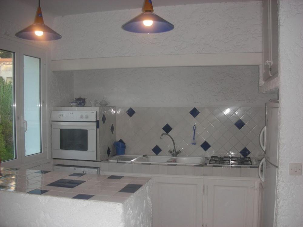 la cuisine équipée à l 'étage