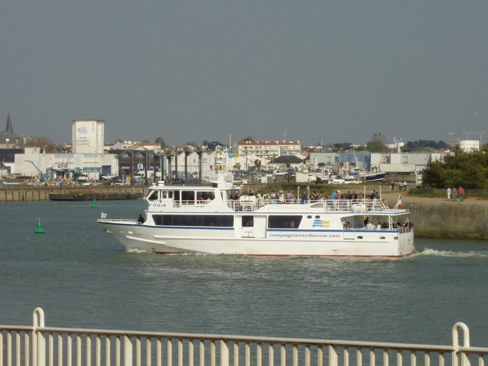 Embarcadère Ile d'Yeu à 100 m