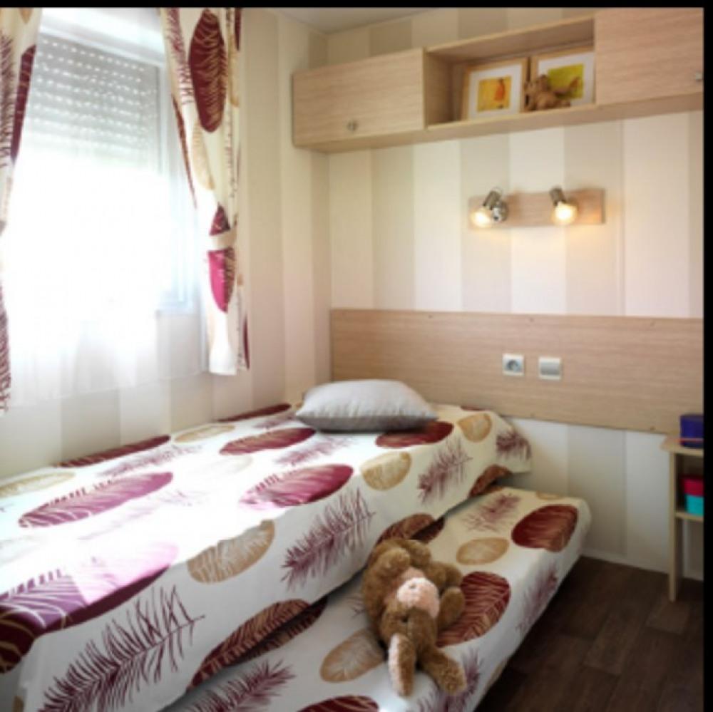 2 lit de 80 dans la deuxième chambre