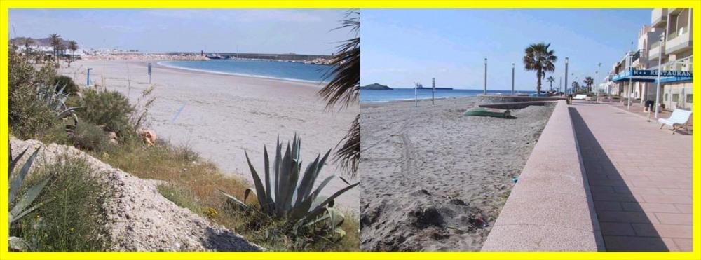 plage et paseo maritime