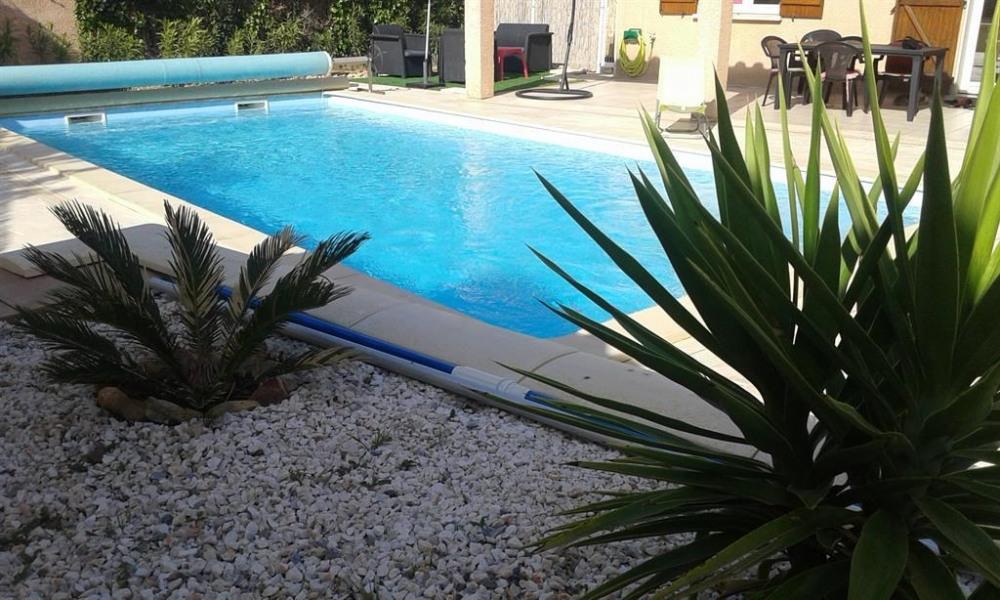 Villa pour 6 pers. avec piscine privée, Fourques