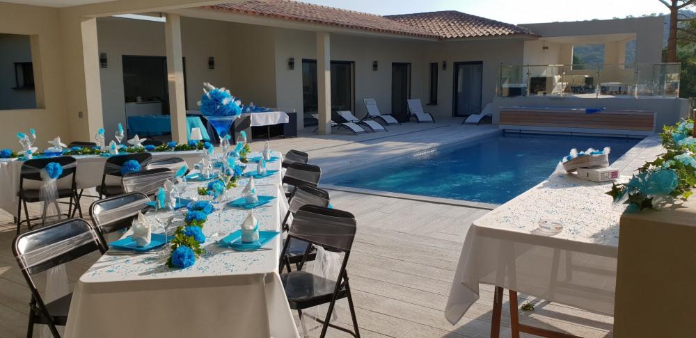 Villa neuve 08 pers haut standing piscine chauffée