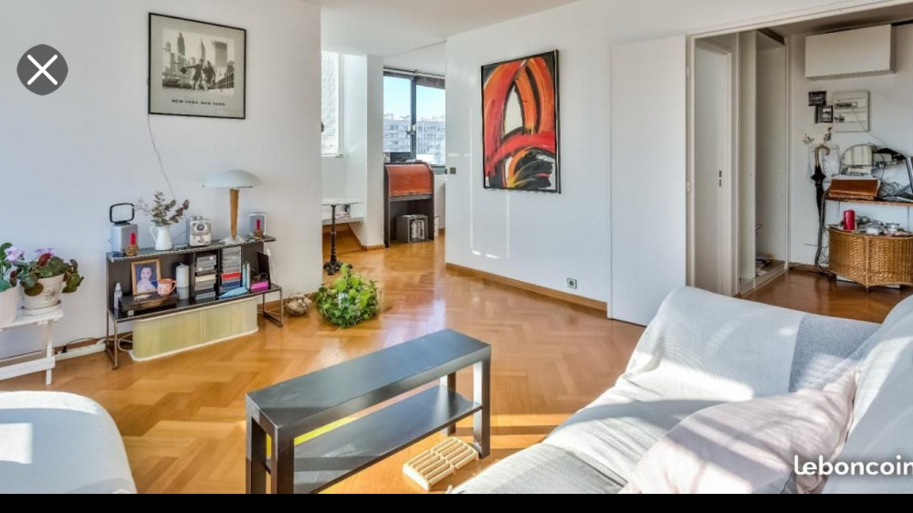 Location vacances Paris 13e Arrondissement -  Appartement - 3 personnes - Court de tennis - Photo N° 1