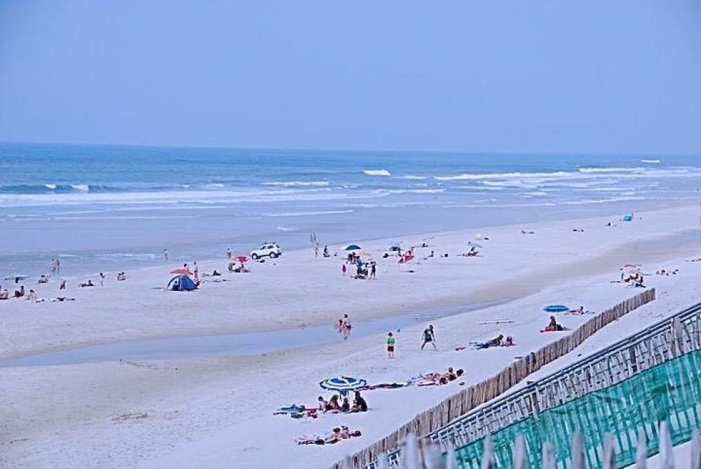 La plage à 350m