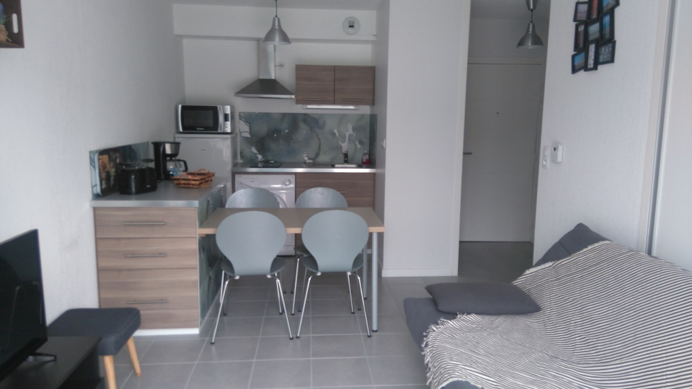 Location vacances Hendaye -  Appartement - 4 personnes - Salon de jardin - Photo N° 1