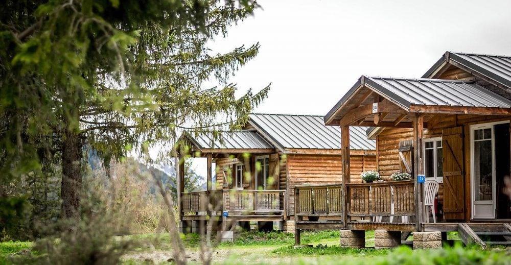 Camping Les Lanchettes, 69 emplacements, 9 locatifs