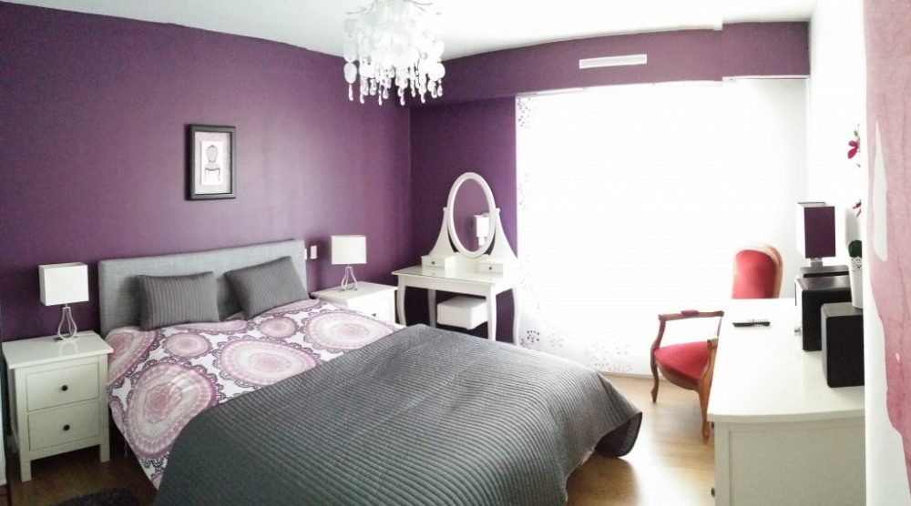 Chambre à coucher - stores élect.