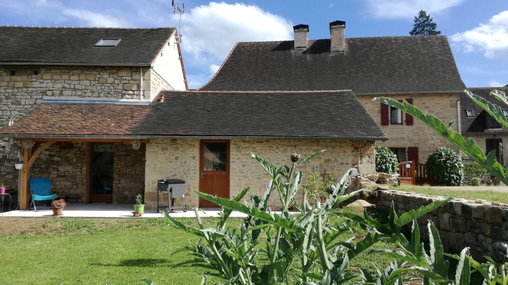 Holiday rentals Cherveix-Cubas - Cottage - 4 persons - BBQ - Photo N° 1