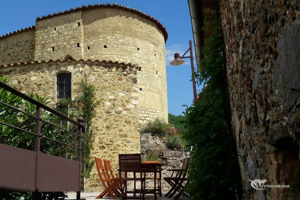 l'église du 12ème siècle