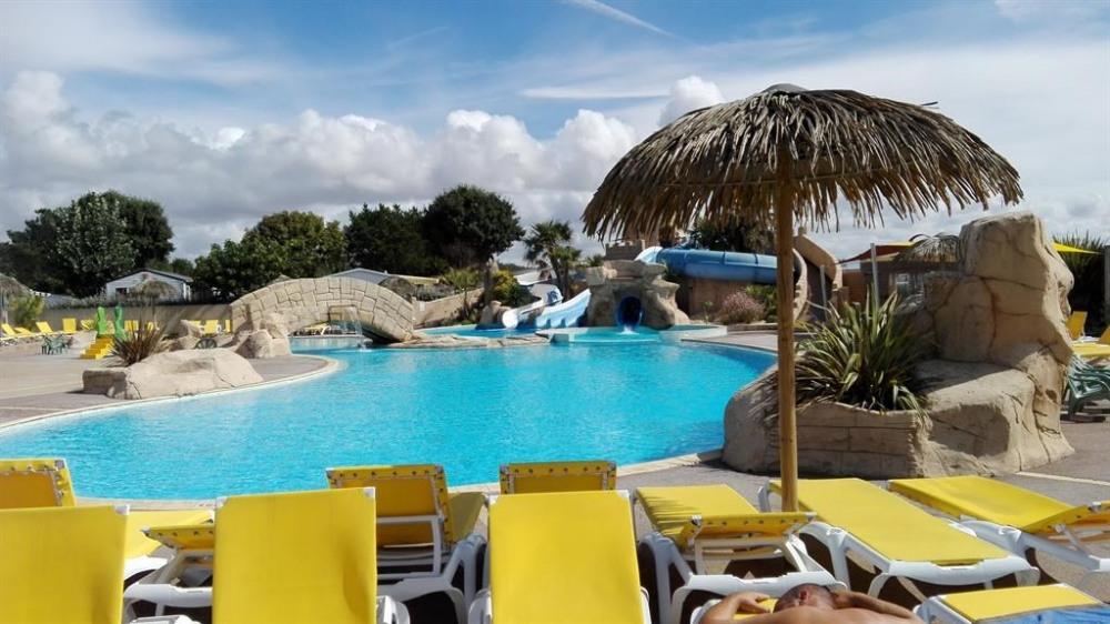 Mobil Home pour 6 pers. avec piscine, Saint-Jean-de-Monts