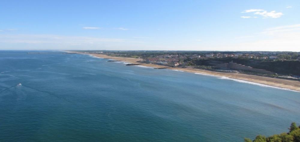 Les plages d'Anglet