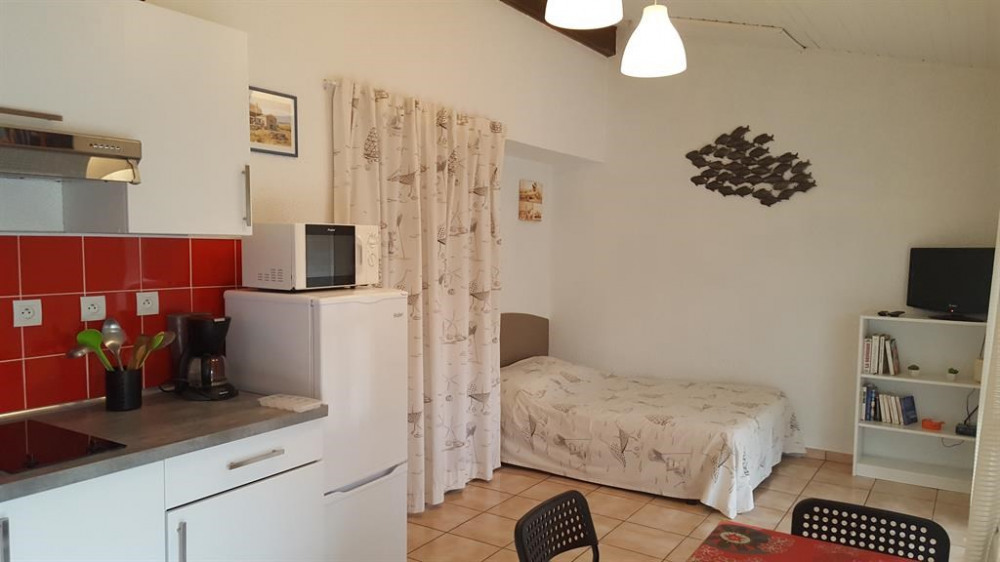 Location vacances Carcans -  Appartement - 2 personnes - Jardin - Photo N° 1