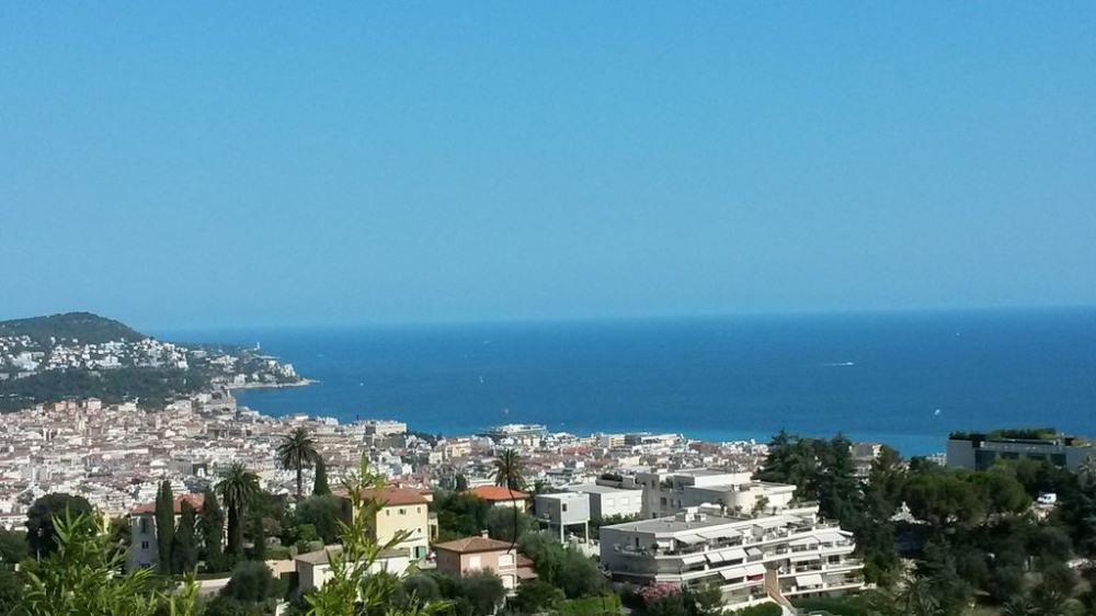 vue observée de la villa