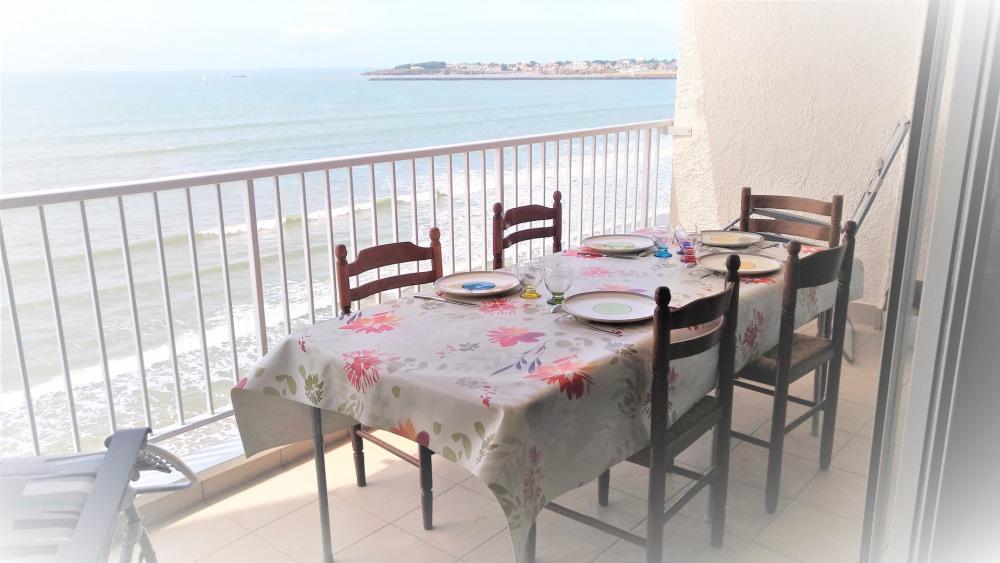 Location vacances Saint-Gilles-Croix-de-Vie -  Appartement - 4 personnes - Barbecue - Photo N° 1