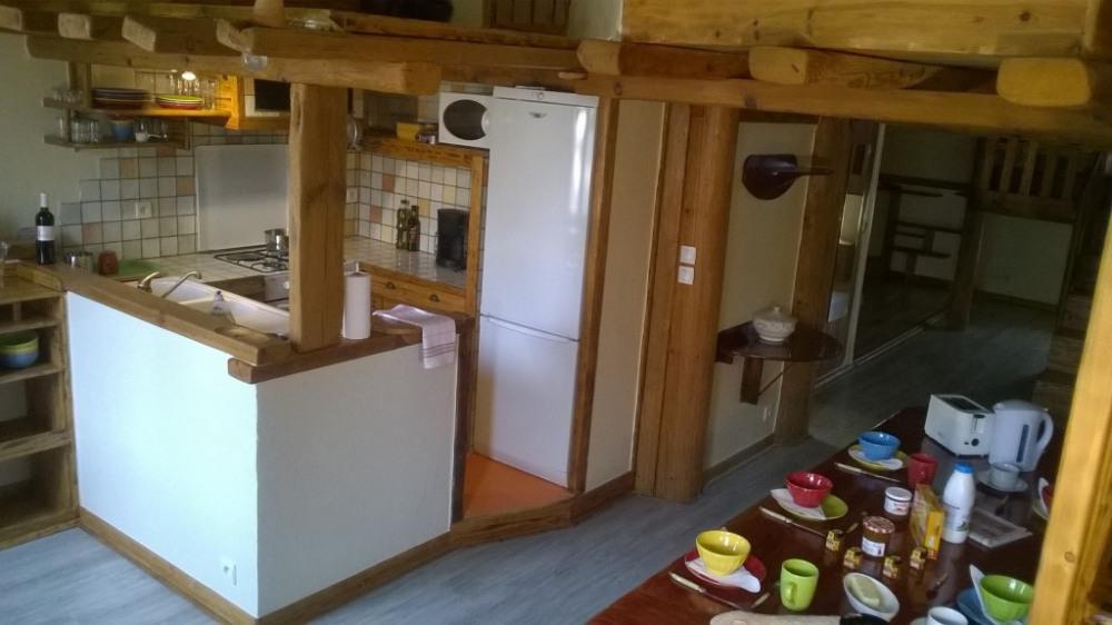Loft, bois et couleurs...