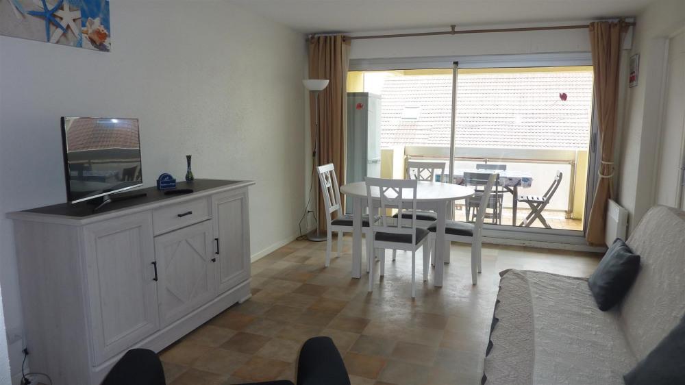 Location vacances Merlimont -  Appartement - 5 personnes - Salon de jardin - Photo N° 1