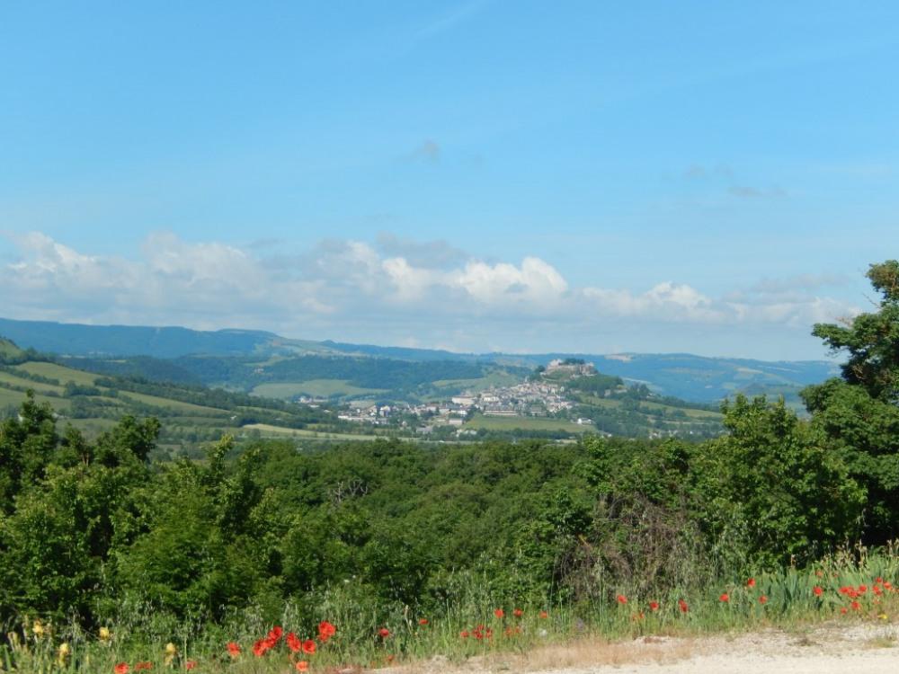 vue vers Séverac le château