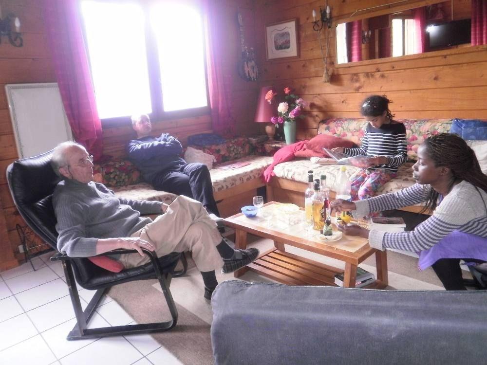 Un salon où il fait bon vivre, se détendre, et se reposer !