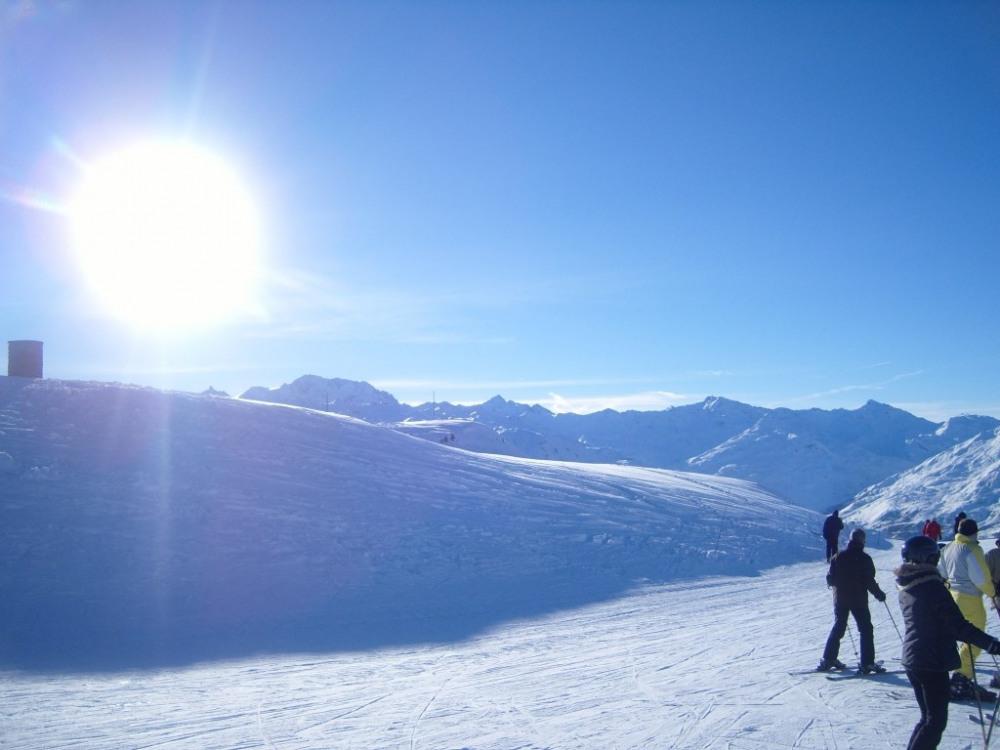 La neige, le soleil, le BONHEUR !!!