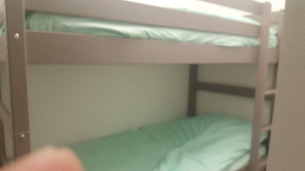 Chambre N°3 à 4 lits superposés