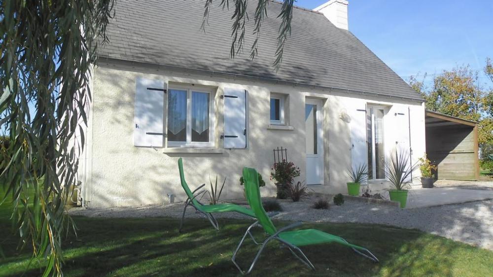 Holiday rentals Plouzévédé - House - 4 persons - BBQ - Photo N° 1