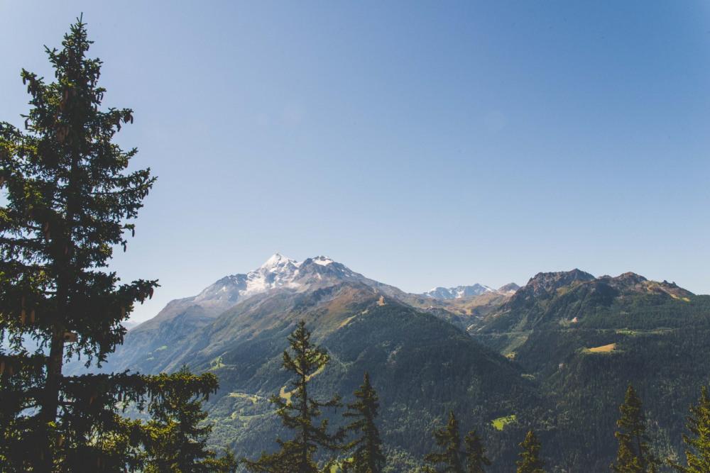 vue sur la montagne