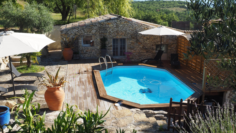 Holiday rentals Mallefougasse-Augès - Cottage - 5 persons - BBQ - Photo N° 1