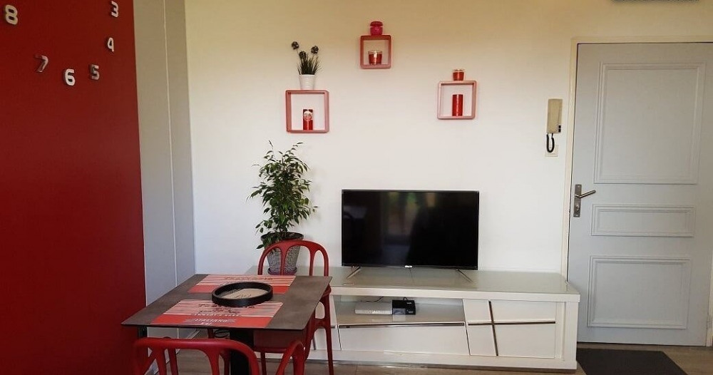 Location vacances Saint-Denis -  Appartement - 2 personnes - Jardin - Photo N° 1