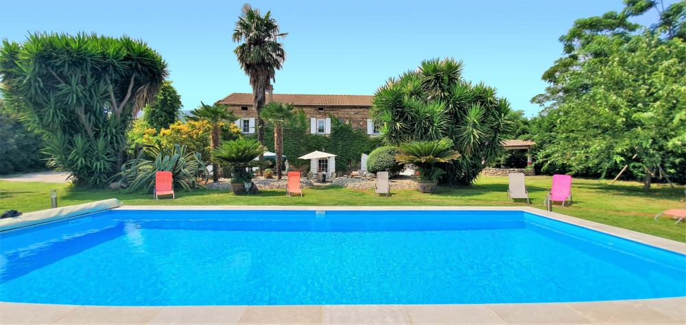 Holiday rentals Santa-Lucia-di-Moriani - House - 11 persons - BBQ - Photo N° 1