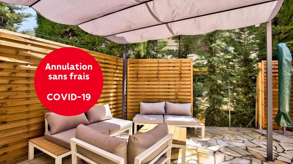 Location vacances Mandelieu-la-Napoule -  Appartement - 6 personnes - Barbecue - Photo N° 1