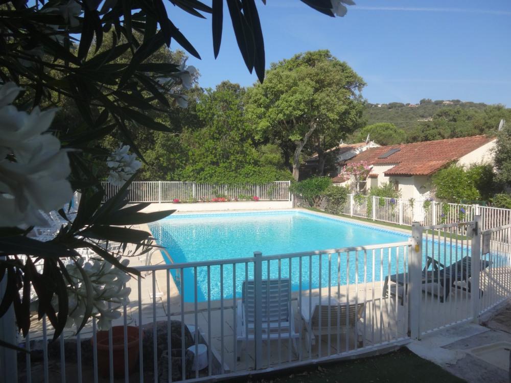 piscine sécurisée de la copropriété (belle taille 150m2)