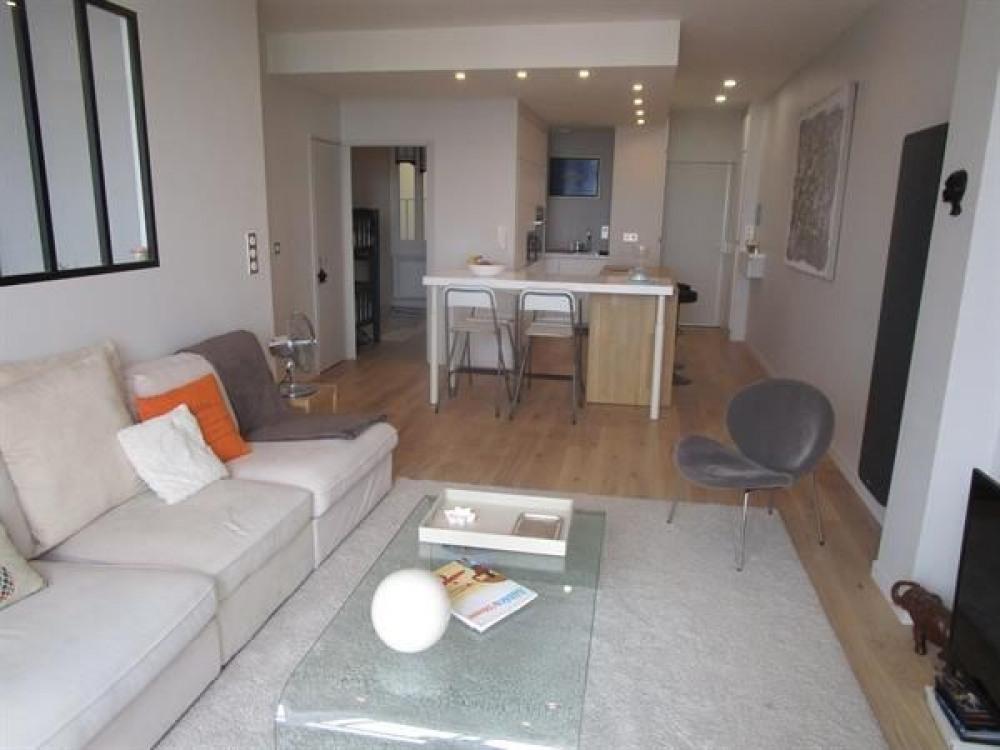 très bel appartement type3 face à la grande plage