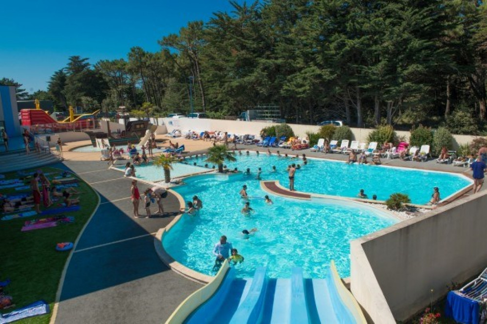Camping L'Océan - Mh EMOTION 3Ch 6pers + Terrasse