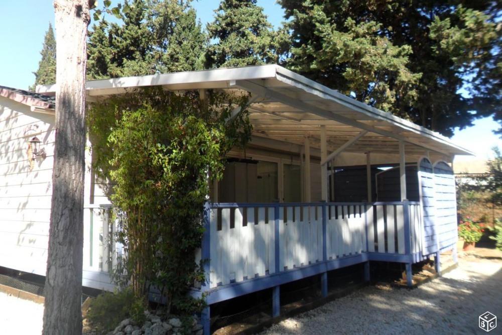 Mobile-home tout confort dans camping familiale