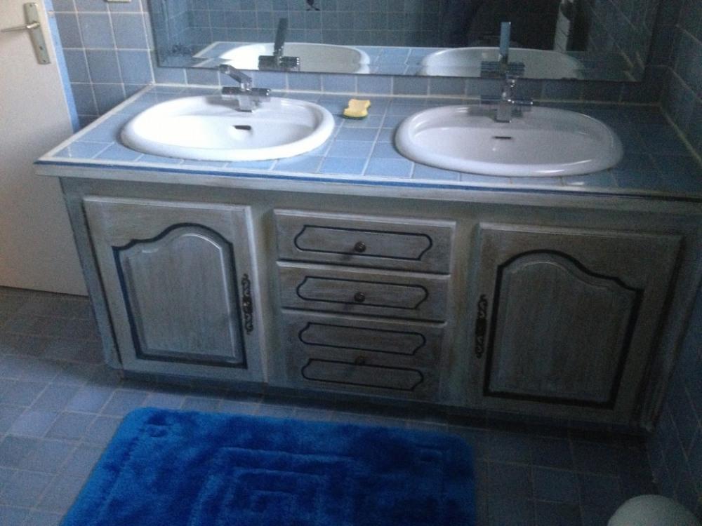 Double vasque salle de bains