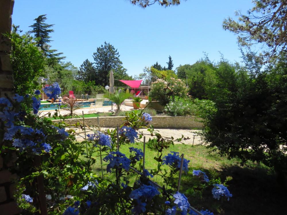 Jardin vue du PIN
